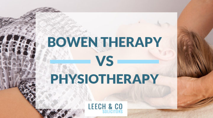 Bowen therapy physiotherapy