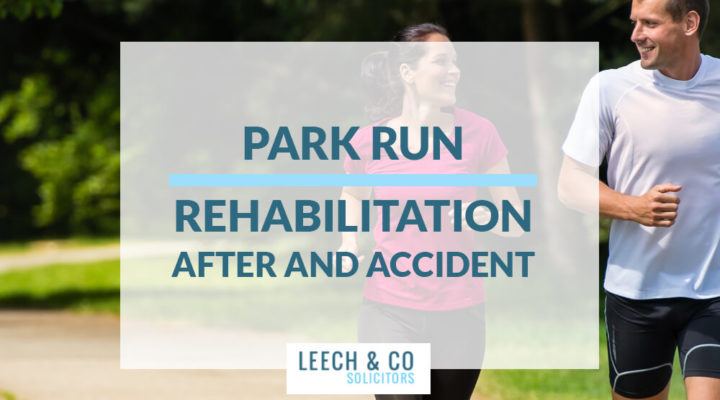Park run accident rehabilitation