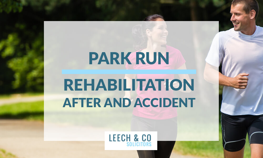 Park run accident rehabilitation