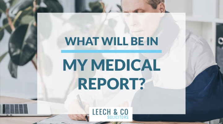 What will be in medical report?