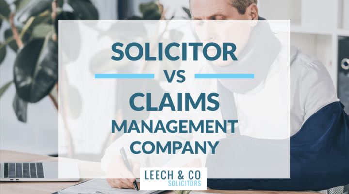 Solicitor vs Claim Management